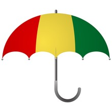 Guinea Flag Umbrella