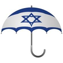 Israel Flag Umbrella
