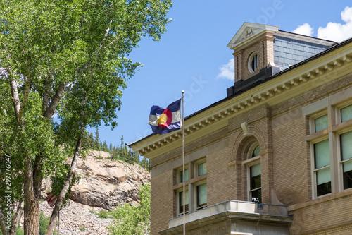 Fényképezés silveton  town hall
