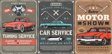 Retro Cars Tuning Service, Mot...