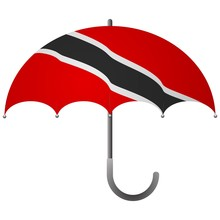 Trinidad And Tobago Flag Umbre...