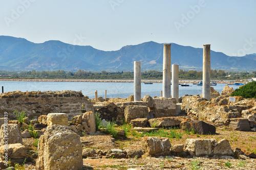 Nora miasto fenickie Sardynia