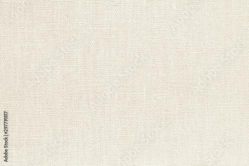 Photographie Natural linen material textile canvas texture background