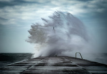 Strong Winds Create Big Waves ...