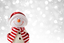 Christmas Snowman, Christmas Ornament