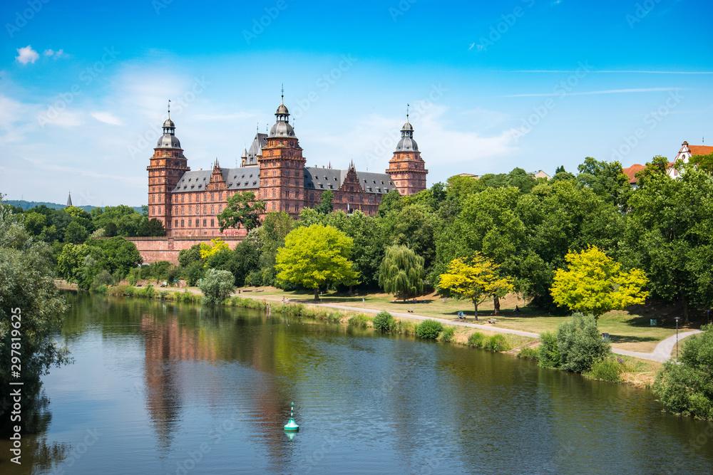 Fototapety, obrazy: Frankfurt Johannisburg palace, Aschaffenburg Germany