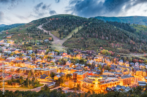 Park City, Utah, USA Canvas Print