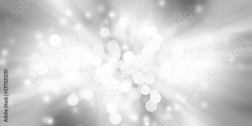white blur abstract background Fototapet