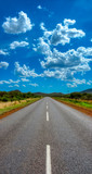 Fototapeta Kawa jest smaczna - African road