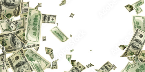Pinturas sobre lienzo  Us dollar bill
