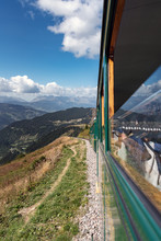 Mont Blanc Tramway In Alpine L...