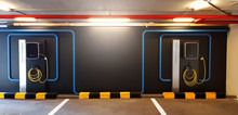 Electric Car Fast Charging Sta...