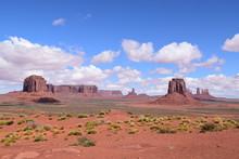 Scenic View Of Monument Valley, Arizona