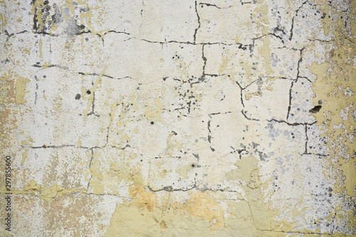 Foto auf AluDibond Alte schmutzig texturierte wand Beautiful vintage background. Abstract grunge decorative stucco wall texture. Wide rough background with copy space for text.