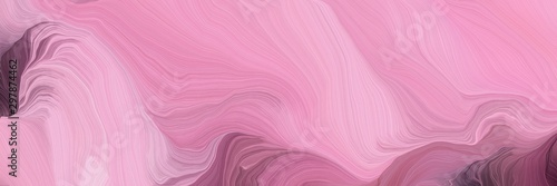 curved speed lines background or backdrop with pastel magenta, old mauve and antique fuchsia colors. good as wallpaper
