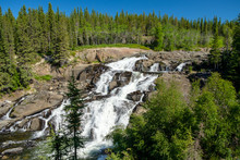Magnificent Cameron Falls, Northwest Territories