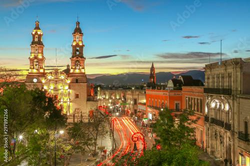 Valokuvatapetti Nuestra catedral Aguascalientes