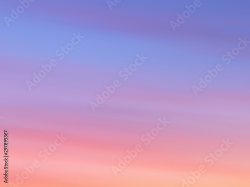 fototapeta na ścianę Beautiful abstract nature sunset or sky as background. Abstract pastel soft colorful smooth blurred textured background off focus toned. Beautiful sunset sky as backdrop. Ronamtic rainbow sunrise