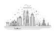 Thailand and attractions to Bangkok landmarks