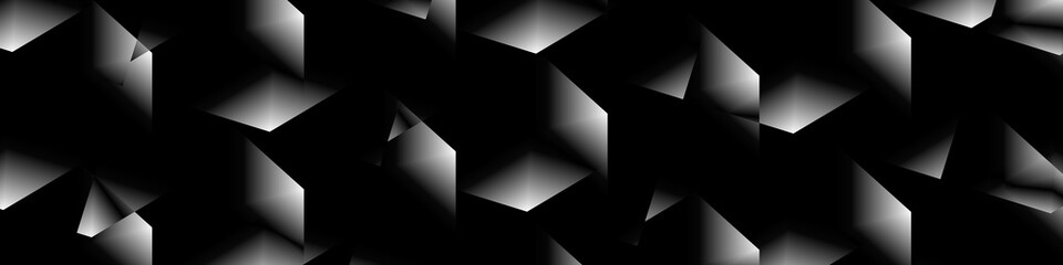Digital art, abstract panor...