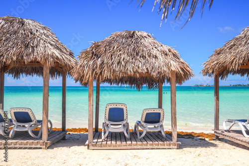 Photo  Pilar Beach of Cayo Guillermo in Cuba