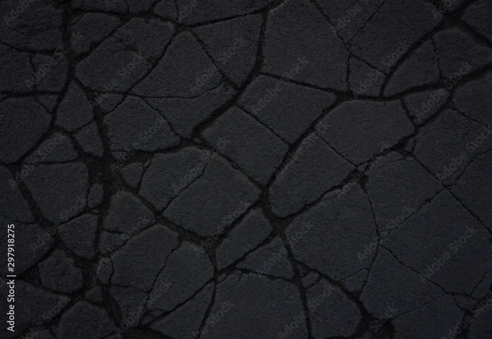 Fototapety, obrazy: Stone Black background