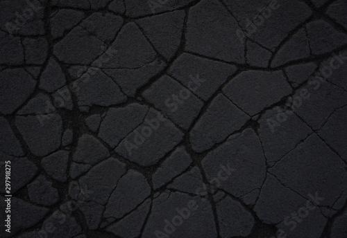 Stone Black background - 297918275