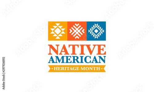 Fotografie, Obraz Native American Heritage Month in November