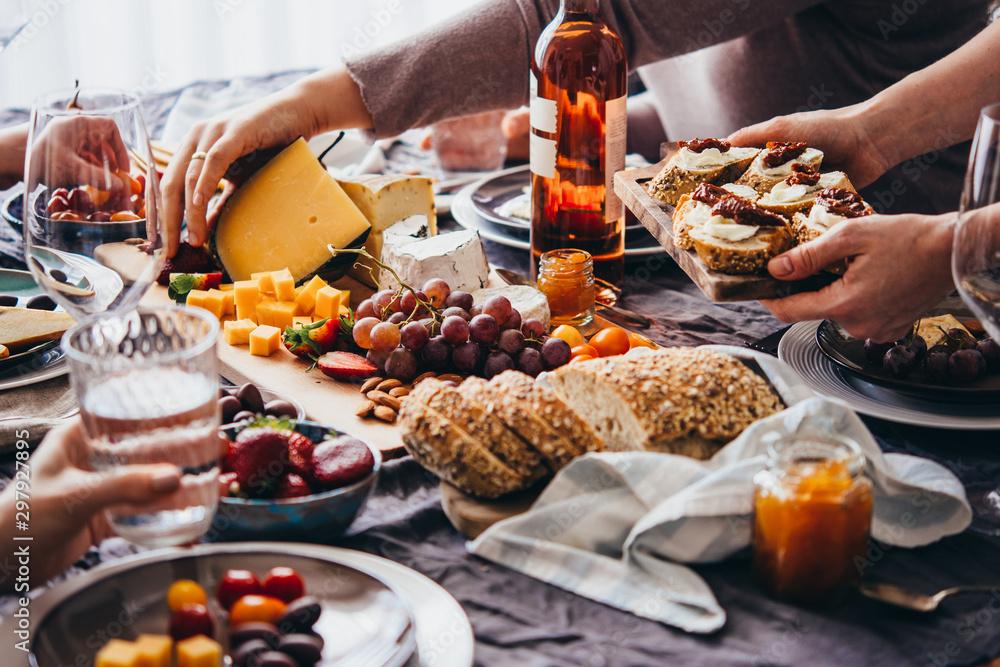 Fototapety, obrazy: Dinner party
