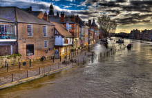 King's Staith In Flood York