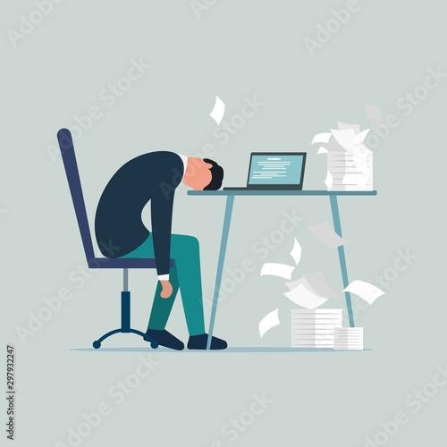 Fotografia  Professional burnout syndrome