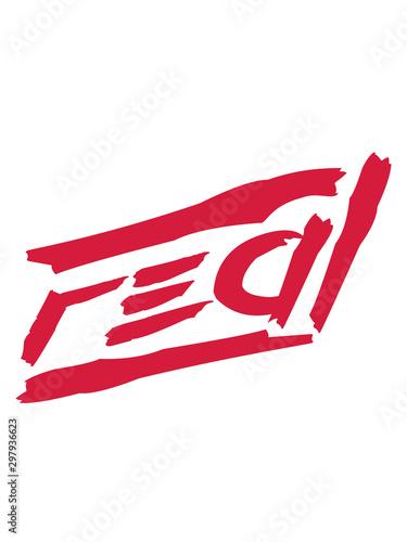Photo ehrlich real rote striche motto spruch cool design authentisch echt natürlich ch