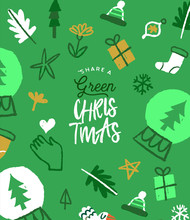 Green Christmas Eco Friendly D...
