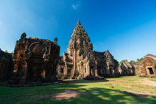 Prasat Khao Phanom Rung Historical Park In Buriram, Thailand
