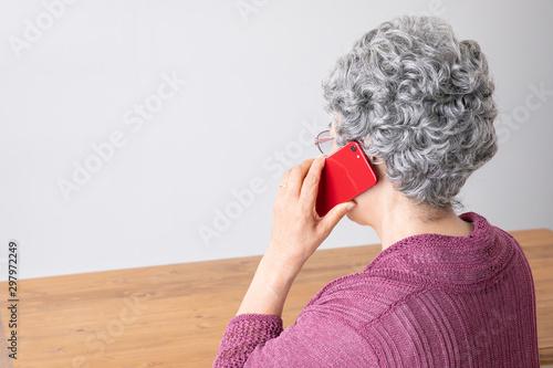 Carta da parati 高齢者の女性