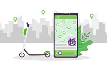 Mobile App For Scooter Sharing...
