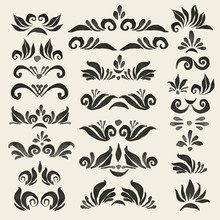 Set Of Vector Decorative Eleme...