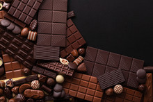Dark Chocolate Background, Swe...