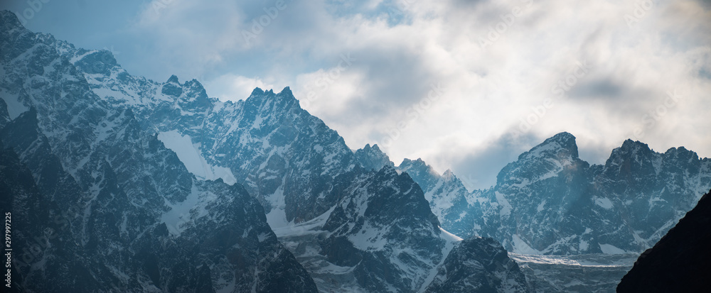 Fototapety, obrazy:  mountains of the Caucasus.