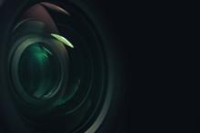 Close Up Beautiful Camera Lens...