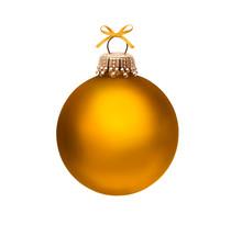 Glänzende Weihnachtskugel Iso...