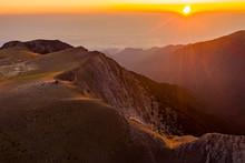 Surise In Mount Olympus