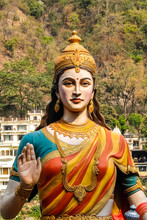 Rishikesh, India. Statue Of Si...
