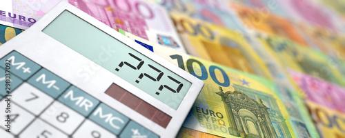 Cuadros en Lienzo Fragen Finanzen