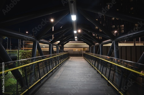 Fotografie, Obraz  Manchester Night City Streets