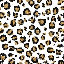 Seamless Leopard Pattern With ...