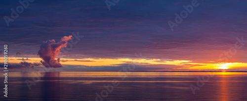 Sunrise in the Baltic