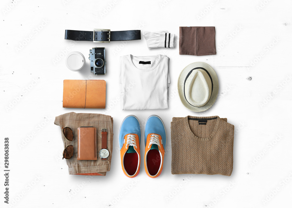 Fototapety, obrazy: Concept on the topic of fashion and clothes