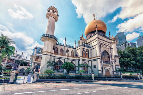 Fotografía Sultan mosque in Singapore city