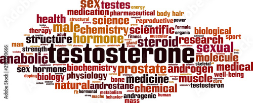 Photo Testosterone word cloud